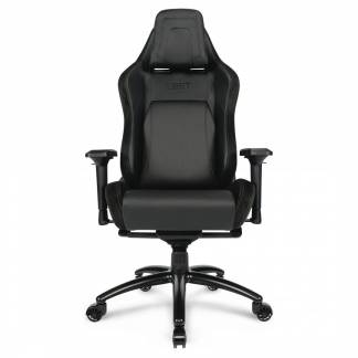 L33T E-sport Pro Gaming stol PU-læder sort