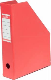 Elba tidsskriftskassetter A4 Maxi rød