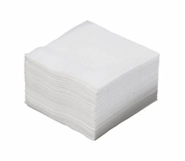 Økonomi serviet 1-lags svanemærket 24x24cm hvid