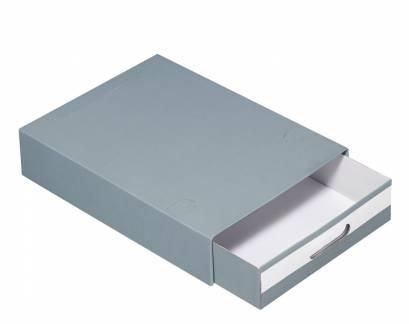 Arkivboks SIS Multibox A4 grå
