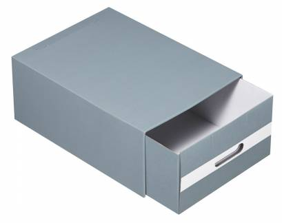Arkivboks SIS Maxibox A4 grå