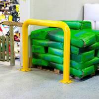 Beskyttelsesbøjle 106x122cm gul
