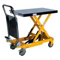 Løftebord mobil med fodpumpe 150kg