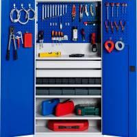 Værktøjsskab SMV kombination nr 1 1990x1000x435mm