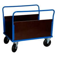Ladvogn med 2 sider 900x1000x700mm blå