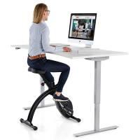 Skrivebordscykel med kontorstol funktion
