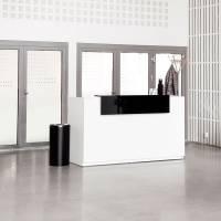 Libra Receptionsskranke komplet med skrivebord 173 cm hvid