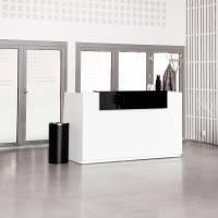 Libra Receptionsskranke med hæve-sænkebord 173 cm hvid