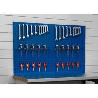 Værktøjstavle perforeret plade 450x2000mm blå