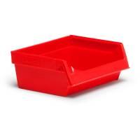 Lagerkasse 2076 96x105x45mm rød