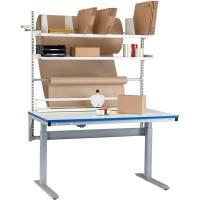 Hæve-sænke pakkebord nr. 9 1500x800mm