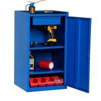 Ergolite værkstedsskab GBP 900x500x450mm blå