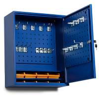 BoxIt værkstedsskab GBP 580x470x205mm blå