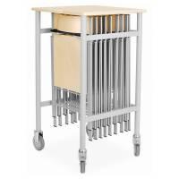 Stolevogn til Mini klapstol med massiv birketop