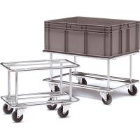 Pallevogn Trolley til Transportkasse 460x410x655mm