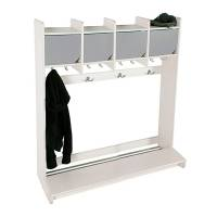 Eira garderobe vægmodel med 4 pladser