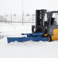 Kraftig sneplov med gaffellåsning 2000mm