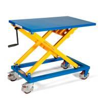 Løftebord mobil med håndsving 300kg