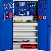 Værktøjsskab SMV kombination nr 3 1990x1000x435mm