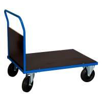 Ladvogn med 1 gavl 900x1000x700mm blå