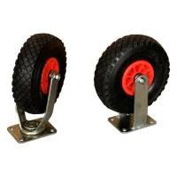 Luftgummihjul tilvalg til transportvogne