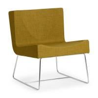 Amsterdam loungestol 750x600x600mm grøn