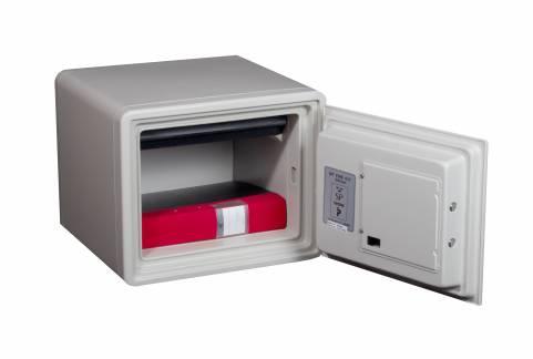 Brandsikkert dokumentskab med elkodelås 334x424x388mm